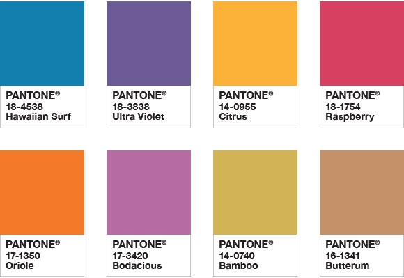 pantone color of the year 2018 palette attitude