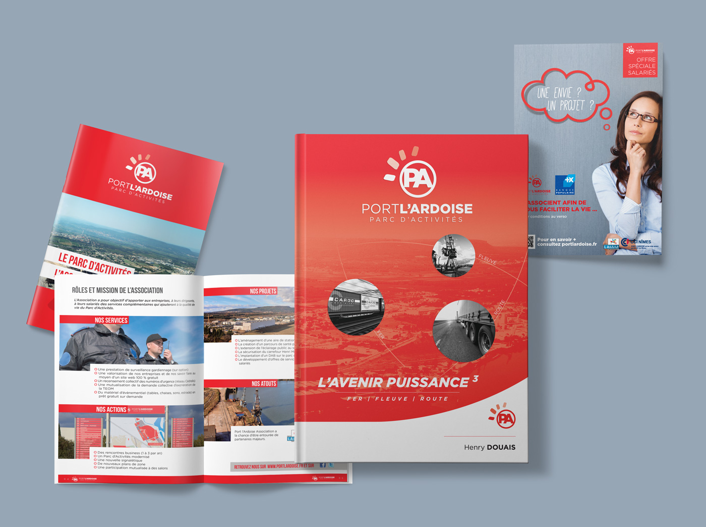 Creation Support Livre Flyer Brochure