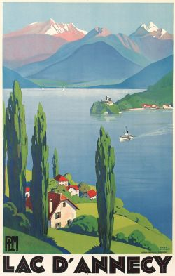 Roger Broders - Lac d'Annecy